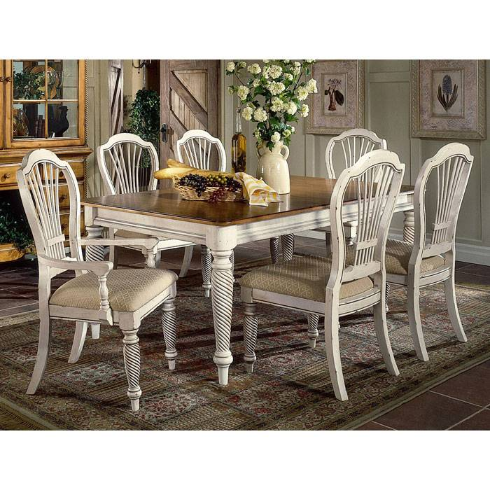 Wilshire Rectangle Dining Table With Extension Leaf Dcg