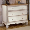 Wilshire Wood Bedside Chest - HILL-1172-772