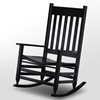Plantation Jumbo Rocking Chair - Black Paint