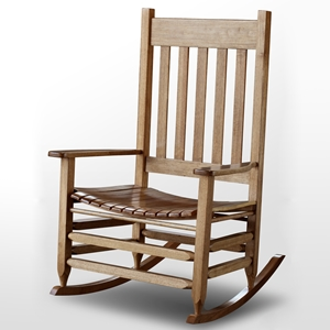 Plantation Jumbo Rocking Chair - Maple Stain