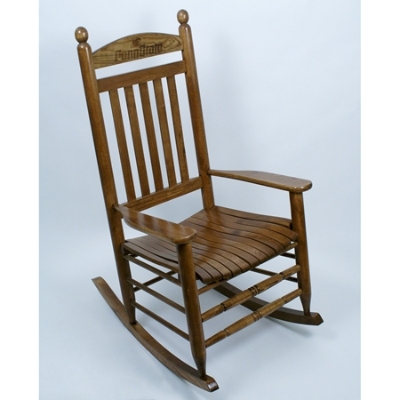 Penn State Nittany Lions Rocking Chair - Maple Finish  DCG Stores