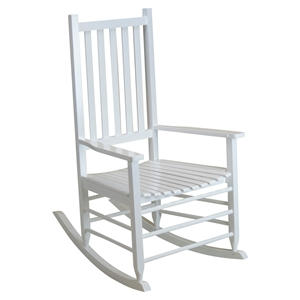 Alexander Mid-Sized Adult Rocking Chair - White