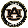 Auburn Tigers Collegiate Rocking Chair - Maple Finish - HINK-250SM-AU-RTA