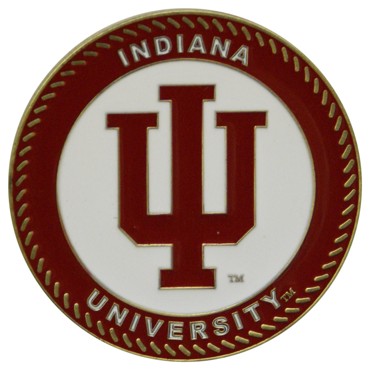 Indiana Hoosiers Collegiate Rocker - Maple Finish - HINK-250SM-IN-RTA