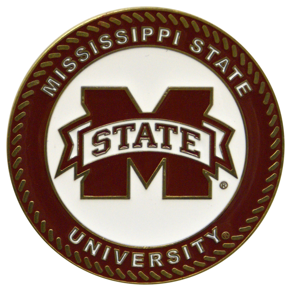 Mississippi State Bulldogs Collegiate Rocker - Maple Finish - HINK-250SM-MS-RTA