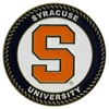 Syracuse Orange Collegiate Rocking Chair - Maple Finish - HINK-250SM-SYR-RTA