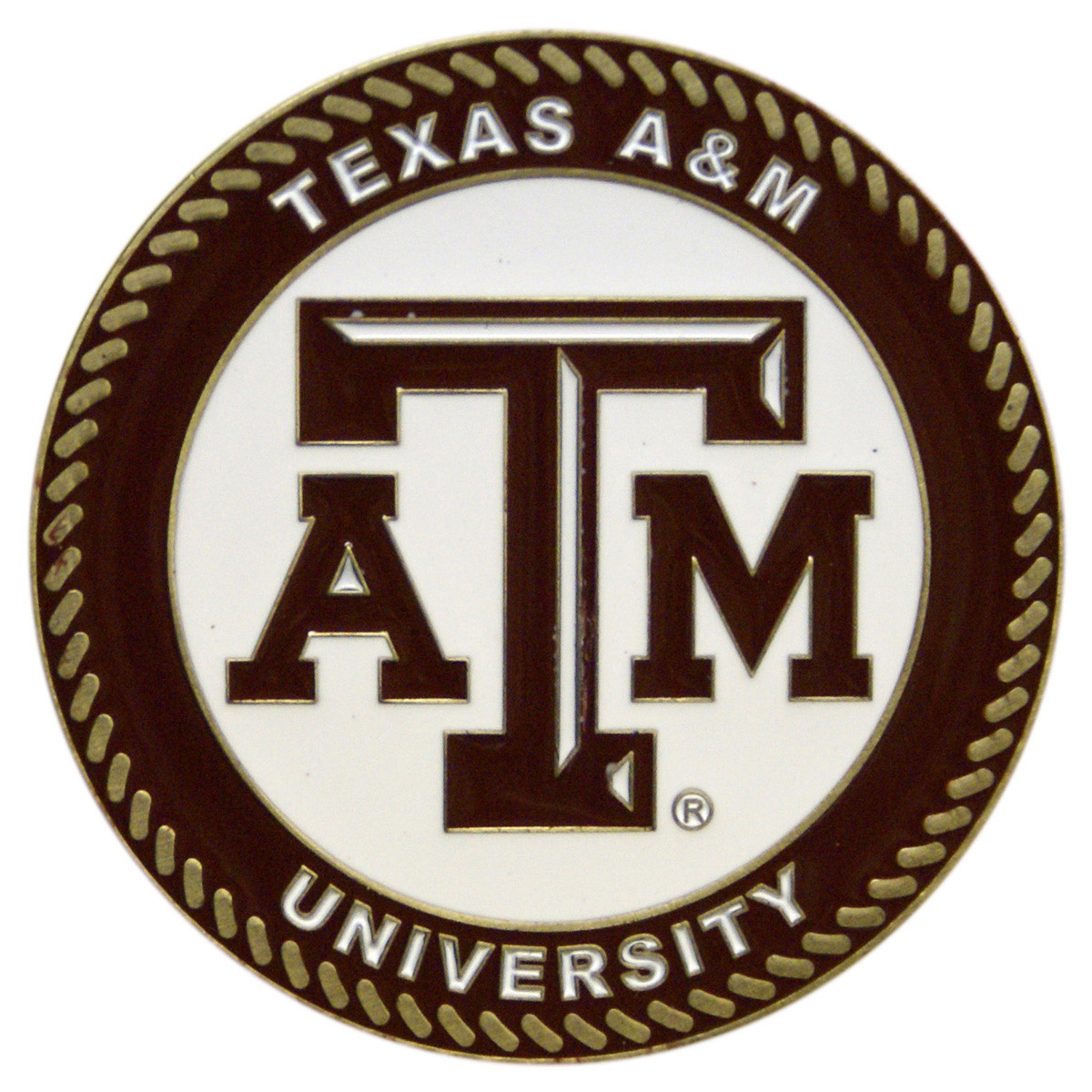 Texas A&M Aggies Collegiate Rocker - Maple Finish - HINK-250SM-TAM-RTA