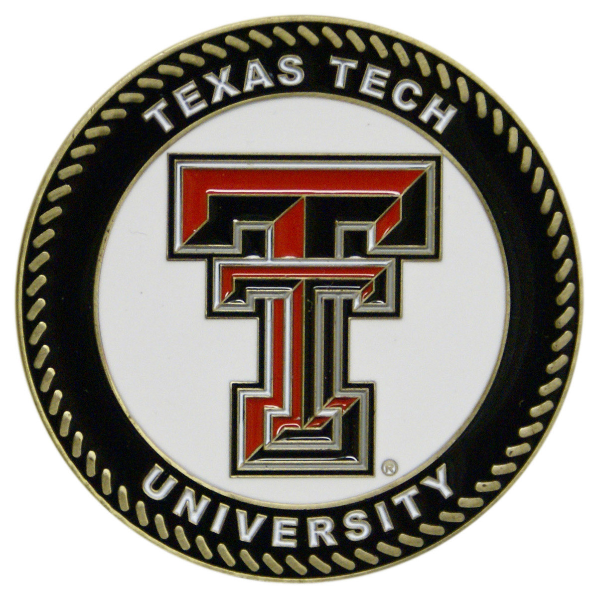 Texas Tech Red Raiders Collegiate Rocking Chair - Maple Finish - HINK-250SM-TXT-RTA