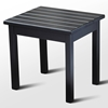 Plantation Porch Side Table - Black Paint - HINK-50ETBF-RTA
