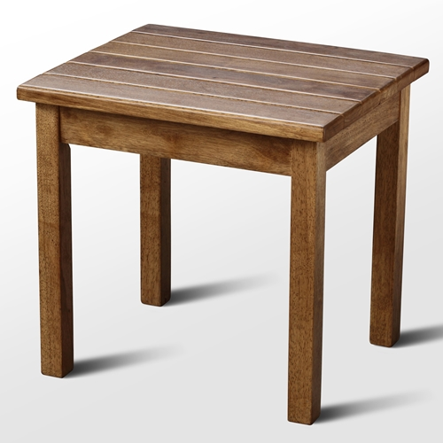 Plantation porch side table maple stain dcg stores for Table 52 botswana