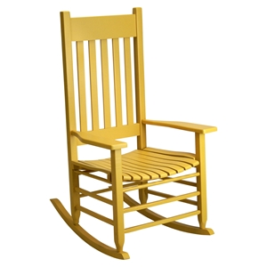Plantation Rocking Chair - Cornbread Painted