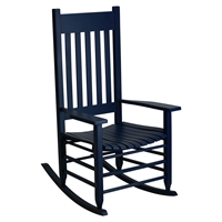 Plantation Rocking Chair - Midnight Painted