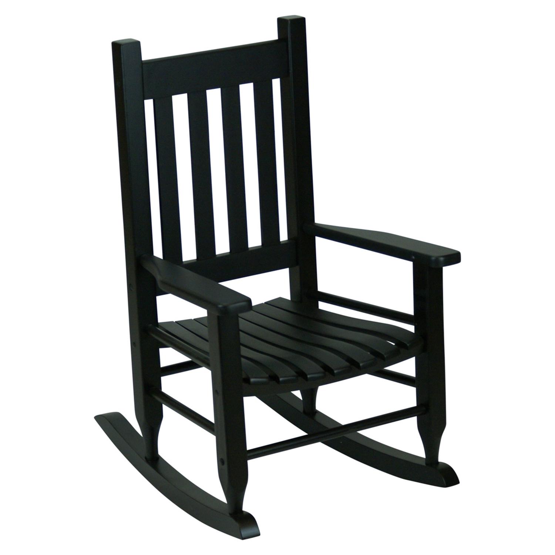 Plantation Childu0027s Rocking Chair   Black