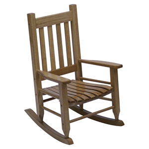 Plantation Child%27s Rocking Chair - Maple