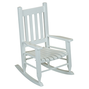 Plantation Childs Rocking Chair - White