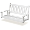 Plantation 50'' Slatted Porch Swing - White Paint - HINK-854PSW-RTA