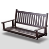 Plantation 58.5'' Wood Porch Swing - Mahogany Stain - HINK-855PSTF-RTA