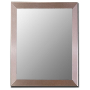 Deana Stainless Steel Frame Mirror - Made in USA