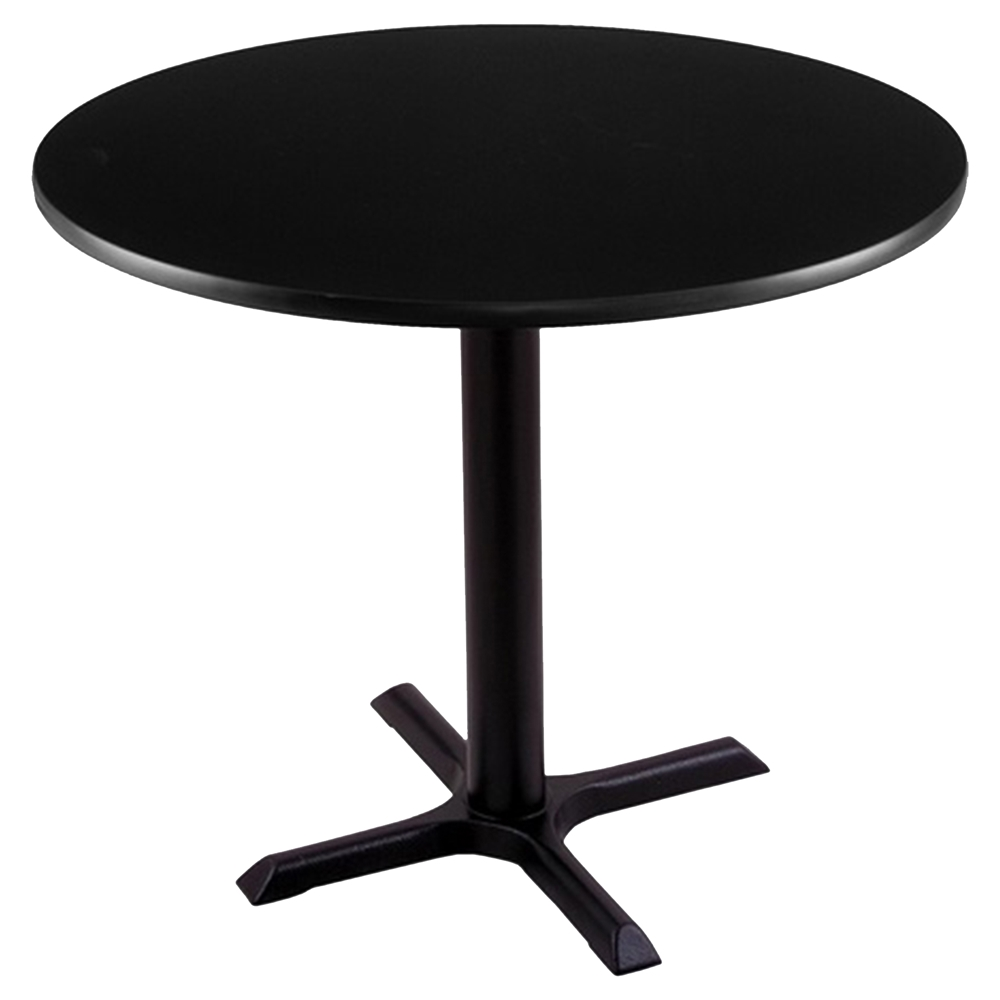 30 Quot Round Pub Table 22 Quot X 22 Quot Foot Black Mahogany