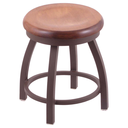 Misha 18 Quot Vanity Stool Wood Seat Swivel Dcg Stores