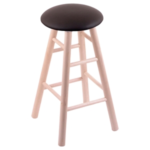 Backless Stool - Smooth Legs, Swivel, Round Cushion