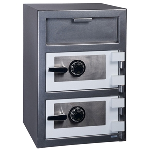 Double Door Depository Safe w/ Dial Lock- FD-3020CC