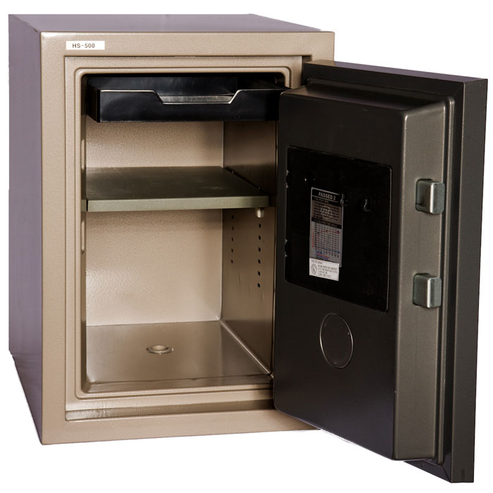 2 Hour Fireproof Home Safe w/ Dial Lock - HS-500D - HOL-HS-500D