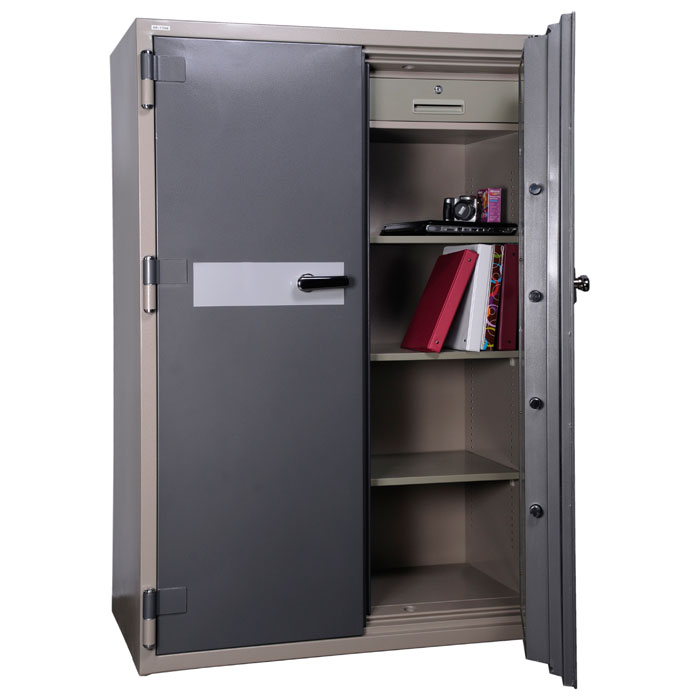 2 Hour Fireproof Office Safe w/ Electronic Lock - HS-1750E - HOL-HS-1750E