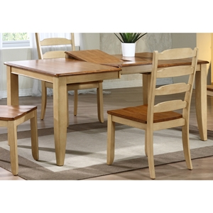 Avelina Extending Dining Table - Rectangle, Honey & Sand Finish