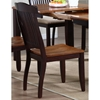 Benedict Side Chair - Mocha Frame, Whiskey Wood Seat - ICON-CH54-WY-MA