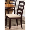 Gatsby 7 Piece Oval Extending Dining Set Ladder Back Chairs