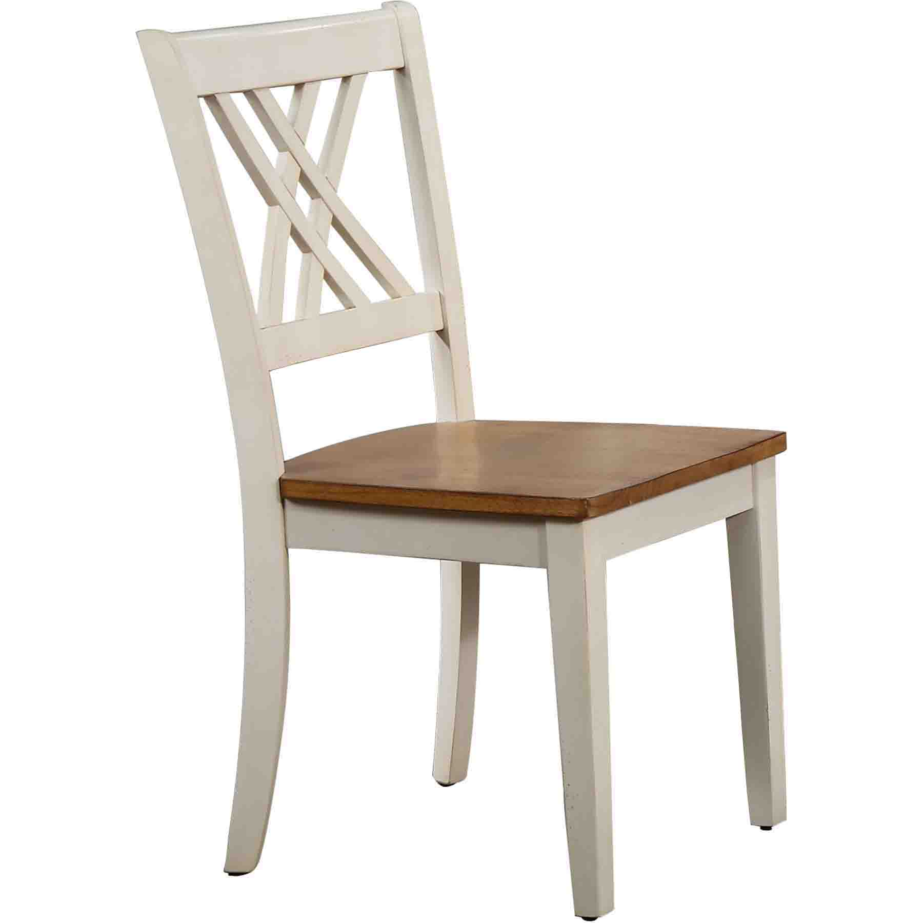 iconic furniture. Double X-Back Dining Chair - Caramel And Biscotti Iconic Furniture R