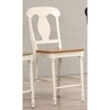 "Napoleon Back 24"" Counter Stool - Caramel and Biscotti - ICON-STC53-CL-BI"