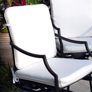 Comfort Care Sunbrella Seat and Back Cushion Set