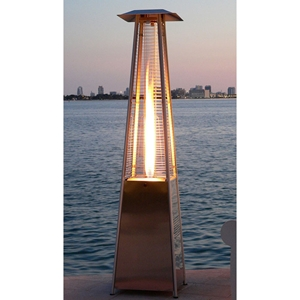 Bonfire Flame Patio Heater with Propane Gas Burner