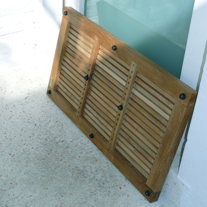 Charmant ... Greenface Reclaimed Teak Doormat In Natural Finish   INF 11560