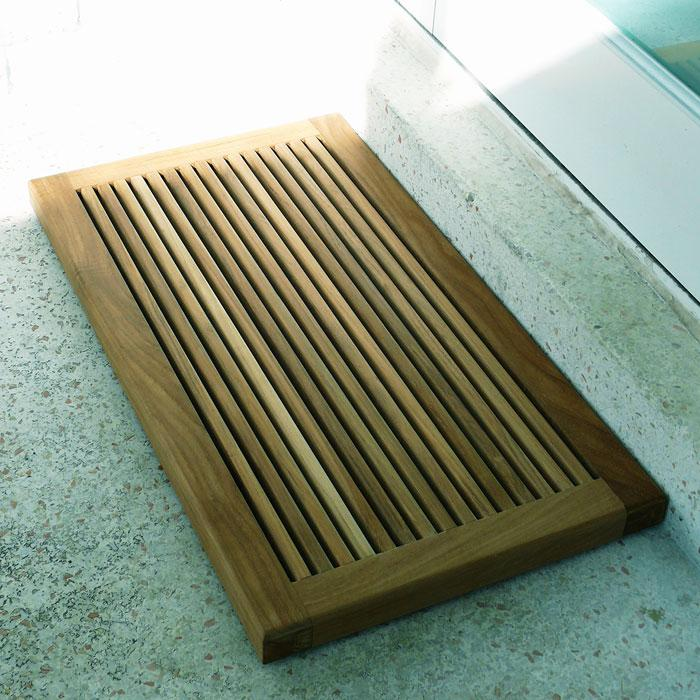 Exceptionnel Greenface Reclaimed Teak Doormat In Natural Finish