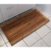 Greenface Rectangle Reclaimed Teak Mat in Natural Finish - INF-11584