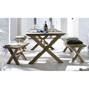Greenface Teak Outdoor Dining Set