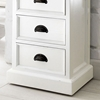 Halifax White Mahogany 7-Drawer Chest - INF-12109