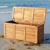 Le Spa Teak Storage Box in Oiled Finish - INF-1248