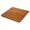 Le Spa 24 Inch Square Teak Floor Mat in Oiled Finish - INF-1668