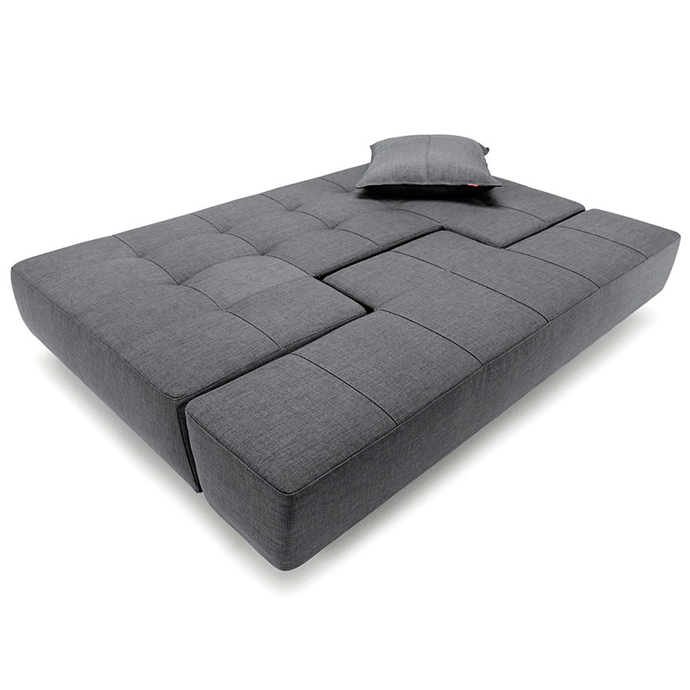Long Horn Deluxe Excess Sofa Bed - Full Size, Dark Gray - INN-94-742032C736-8