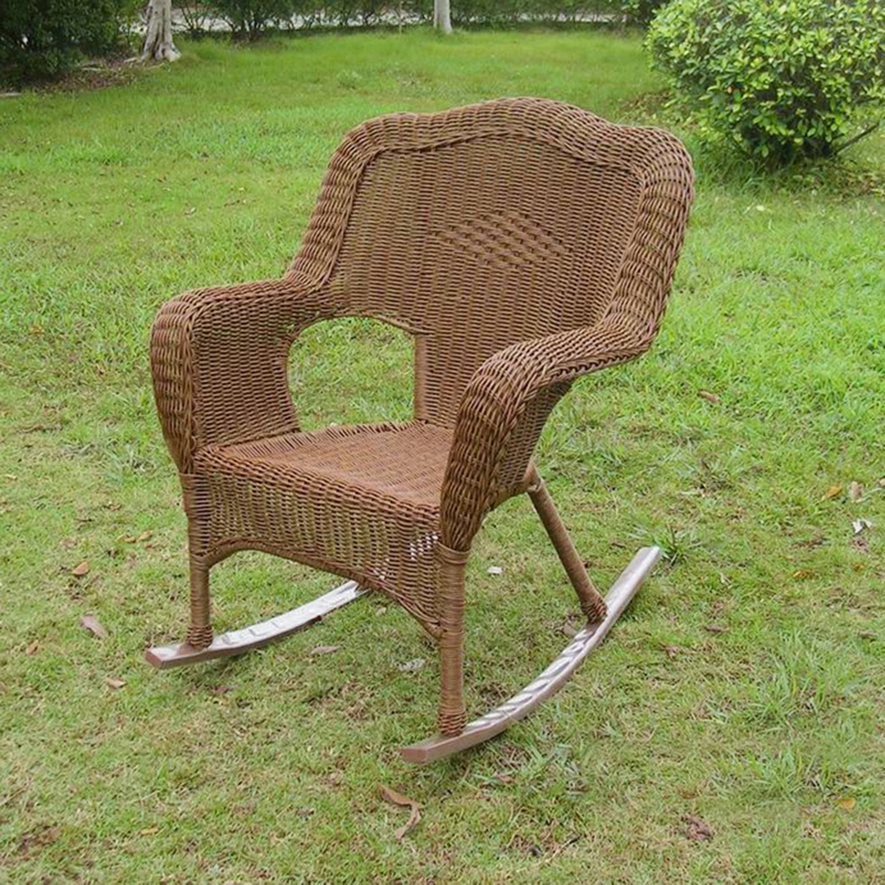Monaco Wicker Porch Rocker Chair Dcg Stores