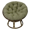 Ryoko Rattan Papasan Chair with Cushion - INTC-3312-93312-MS