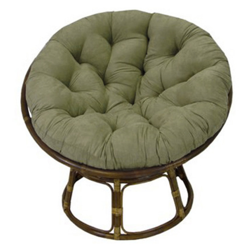 Ryoko Rattan Papasan Chair With Cushion   INTC 3312 93312 MS ...