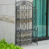Chelsea Folding Baker's Rack with Wine Storage - INTC-3440