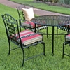 Mandalay 5 Piece Outdoor Set in Antique Black - INTC-3454