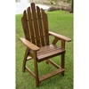 Marvelle Wooden Adirondack Outdoor Bar Chair - INTC-VF-4106