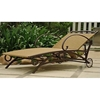 Valencia Wicker Outdoor Chaise Lounge - INTC-4111-SGL
